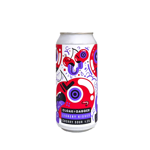 Lickery Kisses Cherry Sour ABV 4.5% (440ml) - INDII Brew Co.