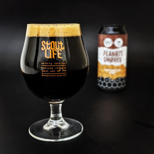 Peanut Smores Fluffernutter Stout ABV 7% (440ml) - INDII Brew Co.