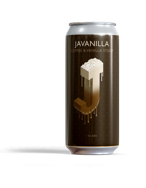 Javanilla Coffee & Vanilla Stout ABV 5% (440ml)