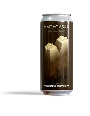Madagaska Vanilla Stout ABV 5% (440ml)
