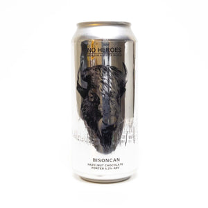 Bisoncan Hazelnut Chocolate Porter ABV 5.2% (440ml)