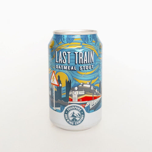 Last Train Oatmeal Stout ABV 5.1% (330ml)