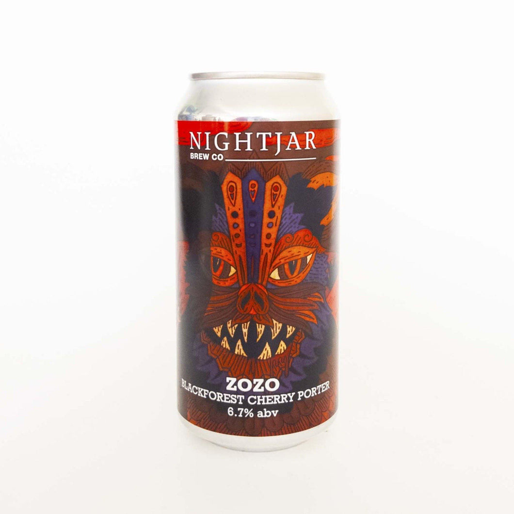 Zozo Blackforest Cherry Porter ABV 6.7% (440ml)