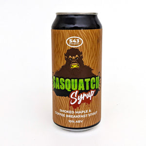 Sasquatch Syrup Smoked Maple & Coffee Breakfast Stout ABV 10% (440ml)