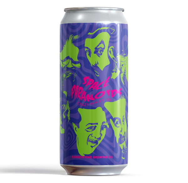 Space Paranoids Hazy IPA ABV 3.7% (440ml) - INDII Brew Co.