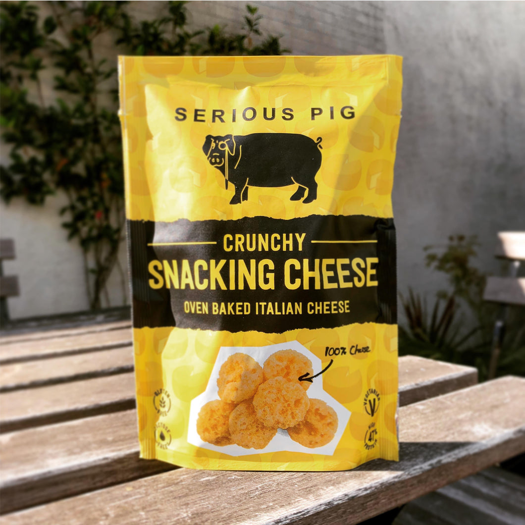 Serious Pig 'Crunchy Snacking Cheese'