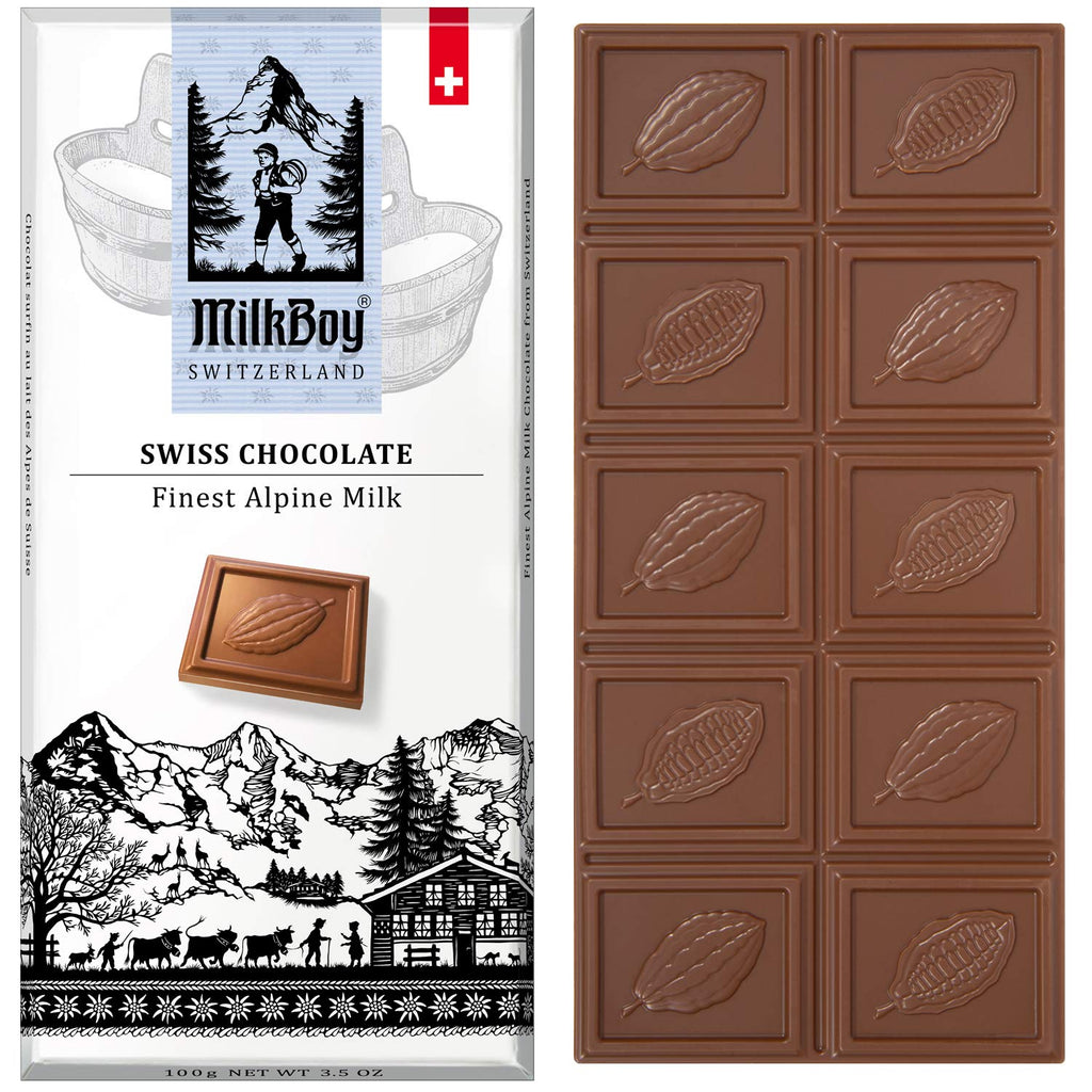 Milkboy Finest Swiss Chocolates Finest Alpine Milk