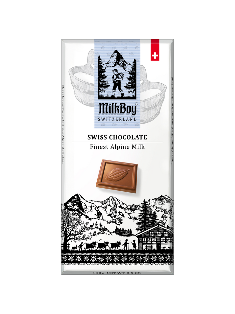 Finest Swiss Alpine Milk Chocolate Bars