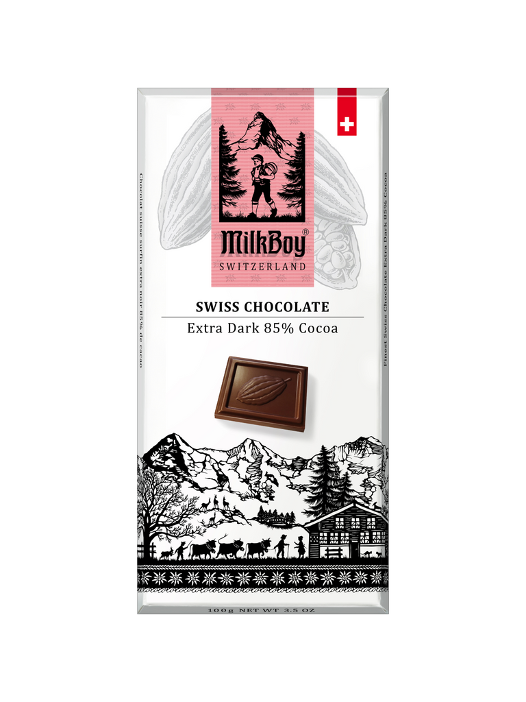 Finest Swiss Chocolate Extra Dark 85% Cocoa