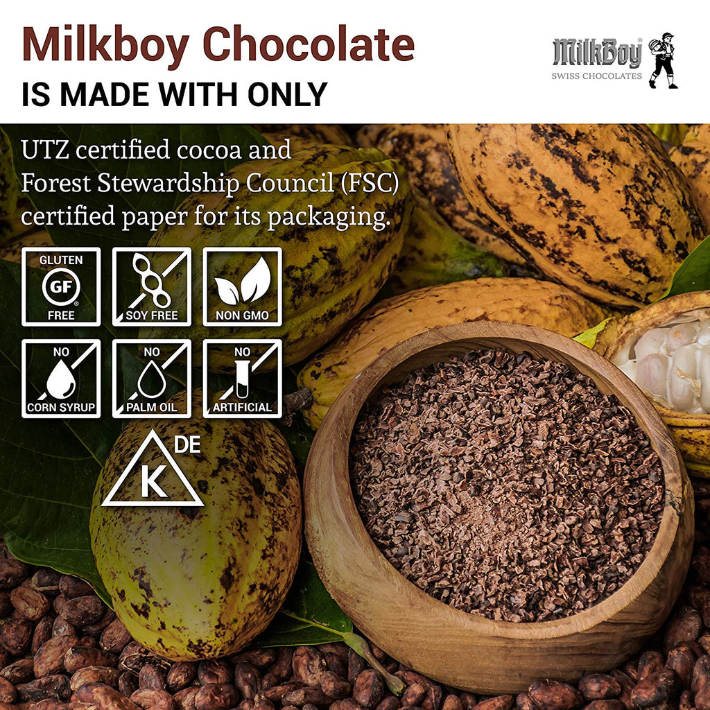 Milkboy Finest Swiss Chocolate Extra Dark 85% Cocoa