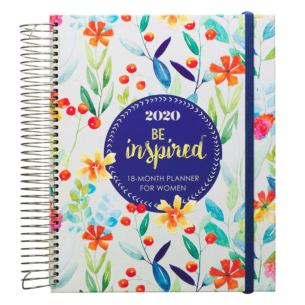 Be Inspired 18-Month Planner For Women 2020