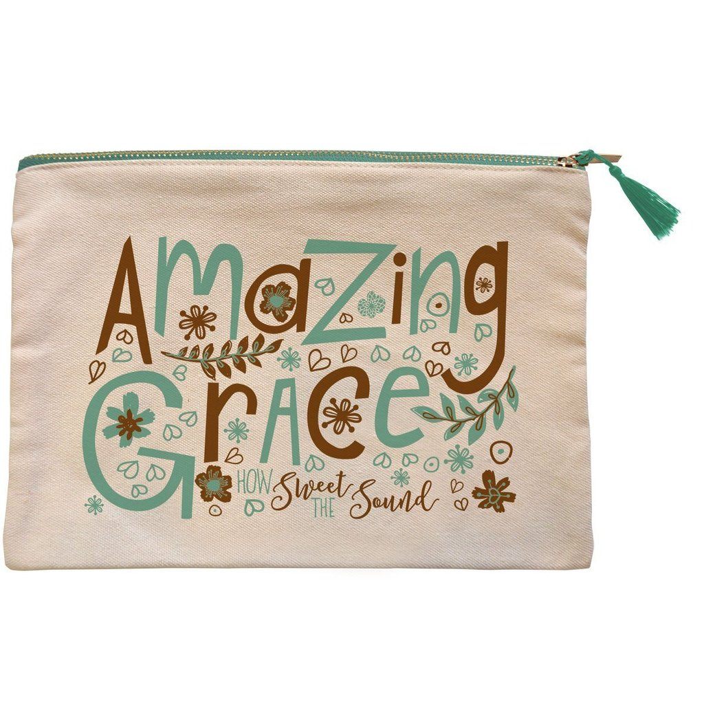 grace & truth™ Amazing Grace Zipper Bag