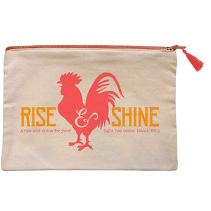grace & truth™ Rise And Shine Zipper Bag