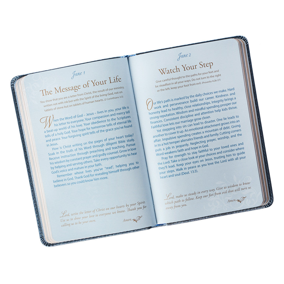 Mr & Mrs 366 Devotions for Couples in LuxLeather