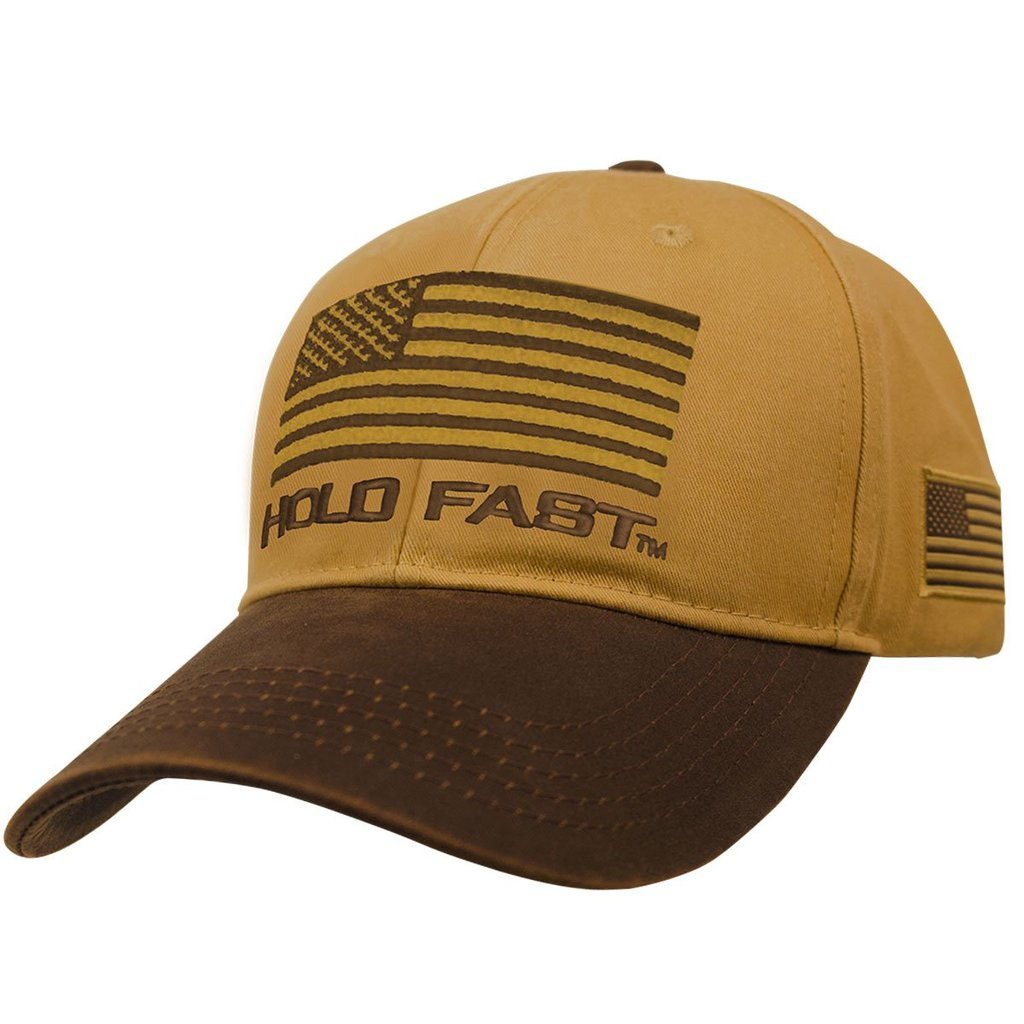 HOLD FAST Christian Cap Canvas Flag