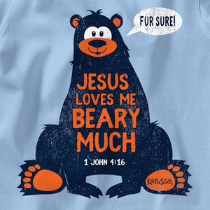 Kerusso Baby T-Shirt Loves Me Beary Much