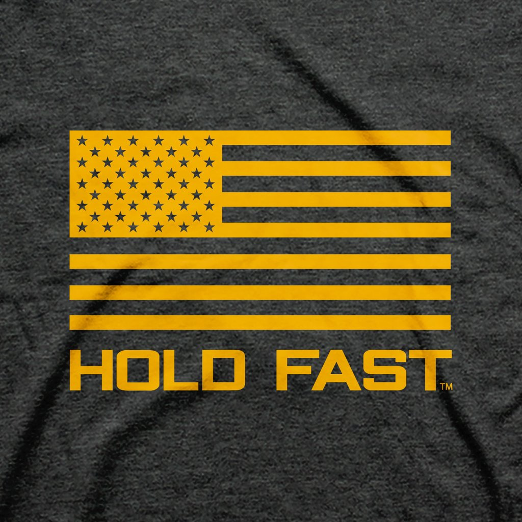HOLD FAST Christian T-Shirt Honor and Glory