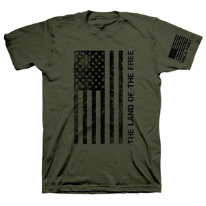 HOLD FAST Christian T-Shirt Freedom Flag