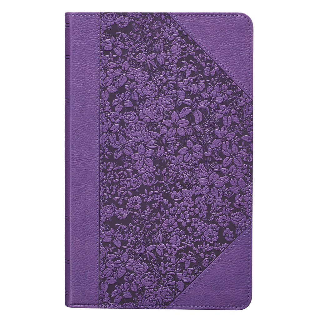 Purple KJV Bible Giant Print