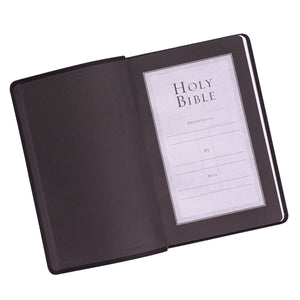 Black KJV Bible Value Gift and Award