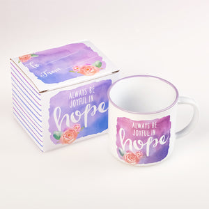 Hope Romans 12:12 Coffee Mug