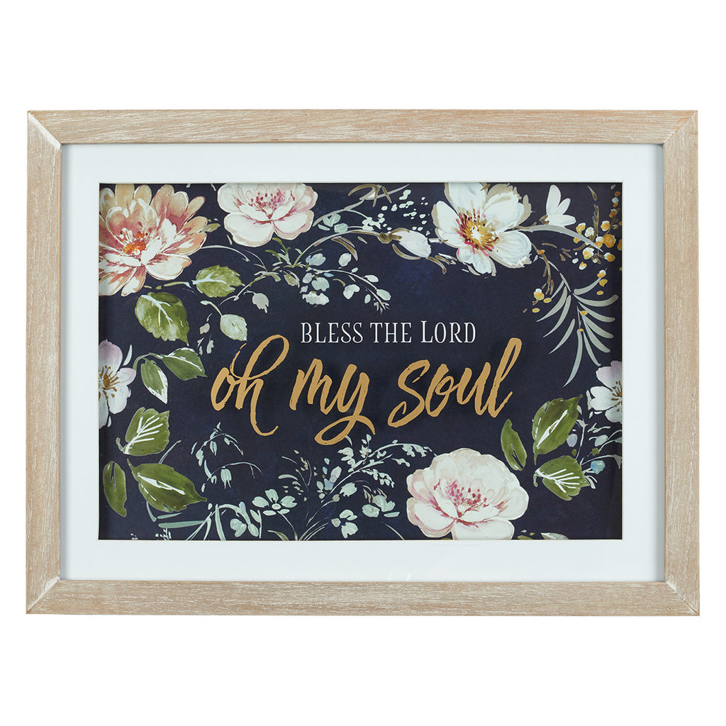 Bless The Lord Oh My Soul Wall Plaque