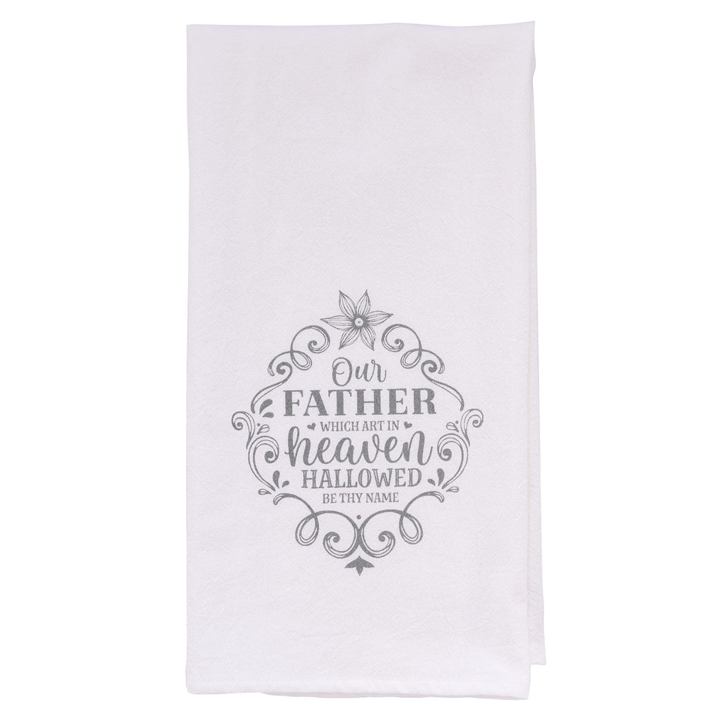 Our Father Tea Towel - Matthew 6:9