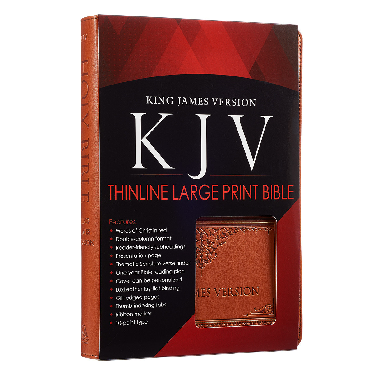 KJV Bible in Large Print, Tan