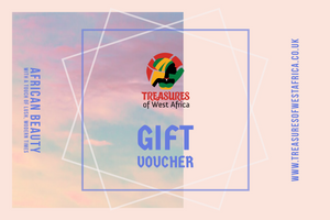 Gift card - Treasures of West Africa - Treasures of West Africa