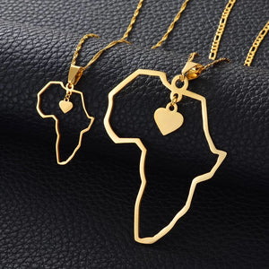 I ♥️ Africa Necklace - Treasures of West Africa