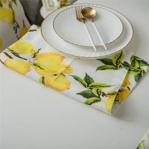 Table Placemat Printed Bowl