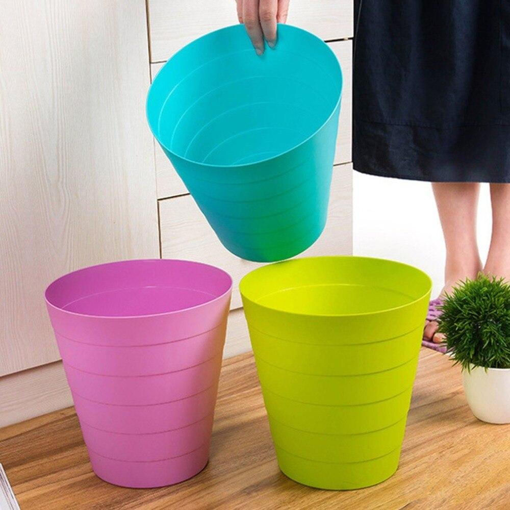 Creative desktop trash Plastic Bucket