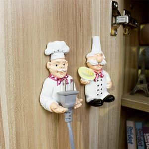 Kitchen Outlet Plug Holder