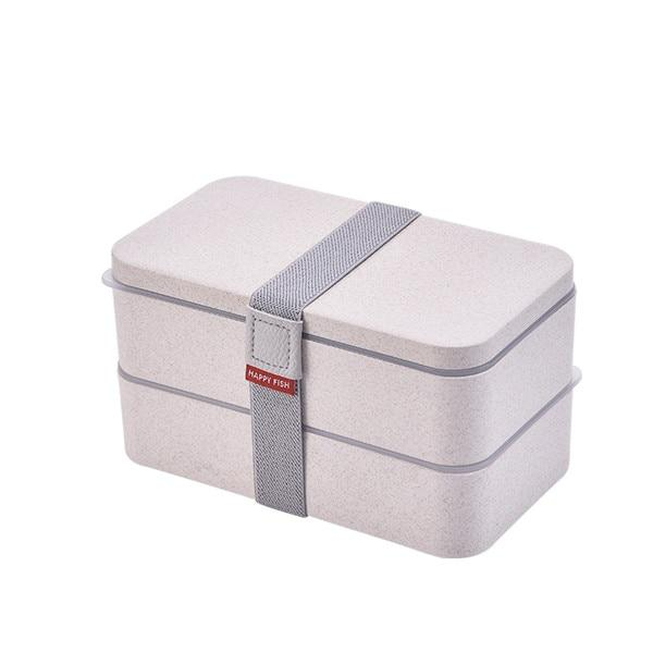 Double Layers Lunch Box