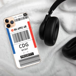 Load image into Gallery viewer, CDG Airport iPhone Case