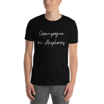 Load image into Gallery viewer, Champagne on Airplanes T-Shirt