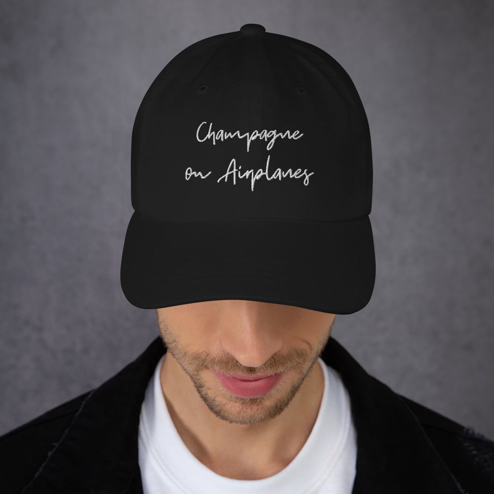 Champagne on Airplanes Hat