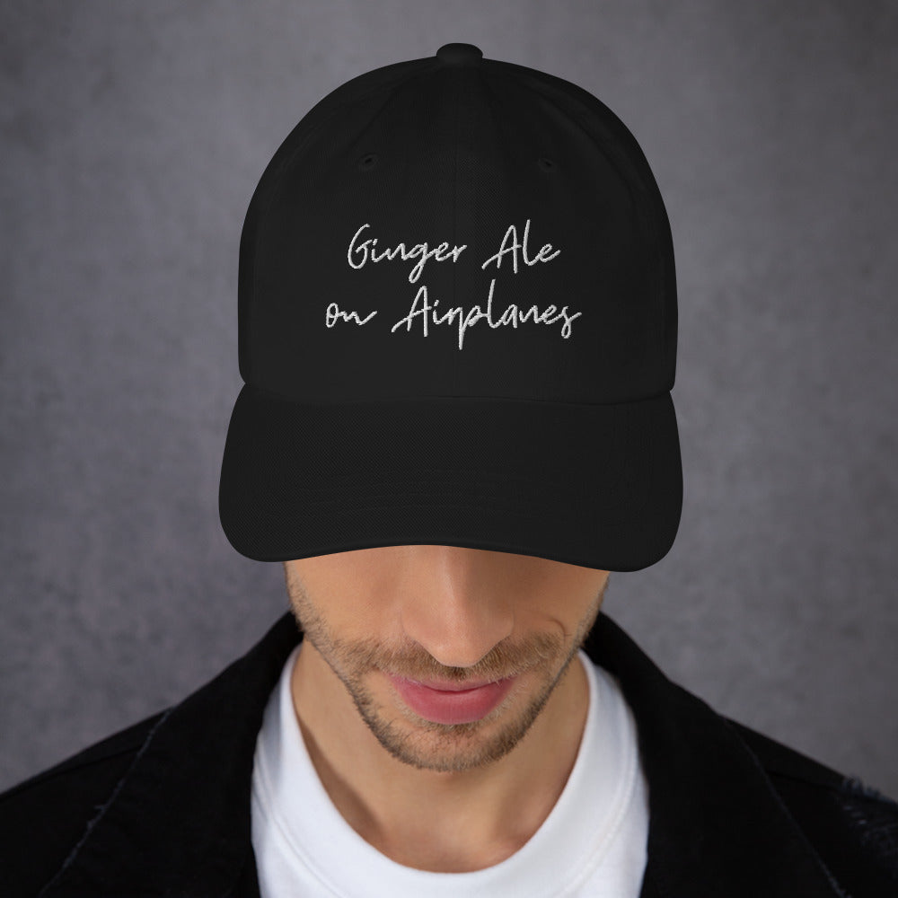 Ginger Ale on Airplanes Hat