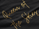 Load image into Gallery viewer, Queen of the Skies - Gold Edition T-Shirt