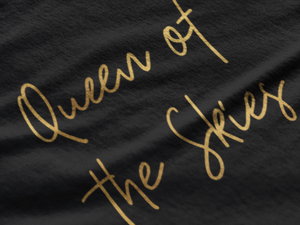 Queen of the Skies - Gold Edition T-Shirt