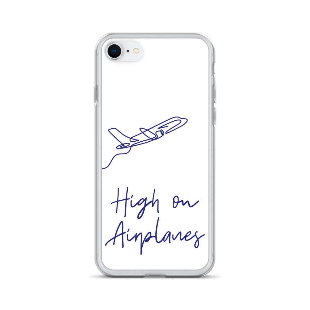High on Airplanes iPhone Case