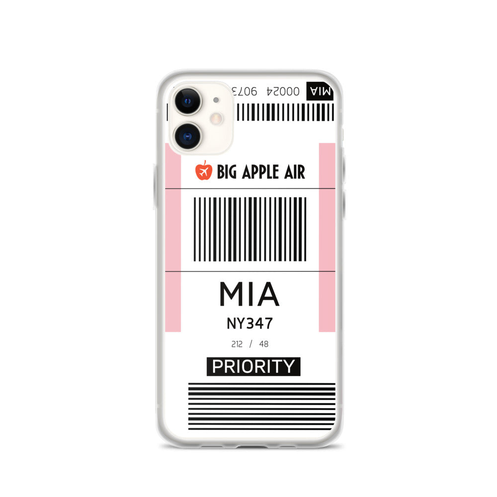 MIA Airport iPhone Case