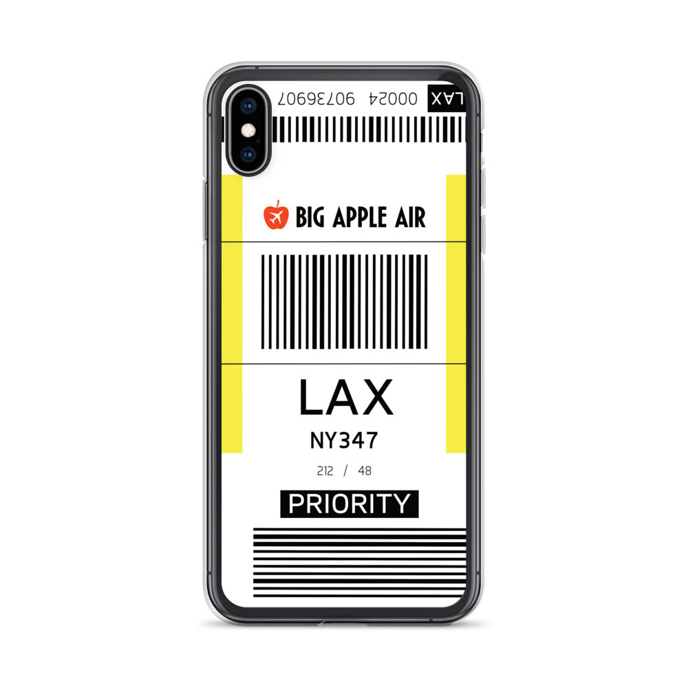 LAX Airport iPhone Case
