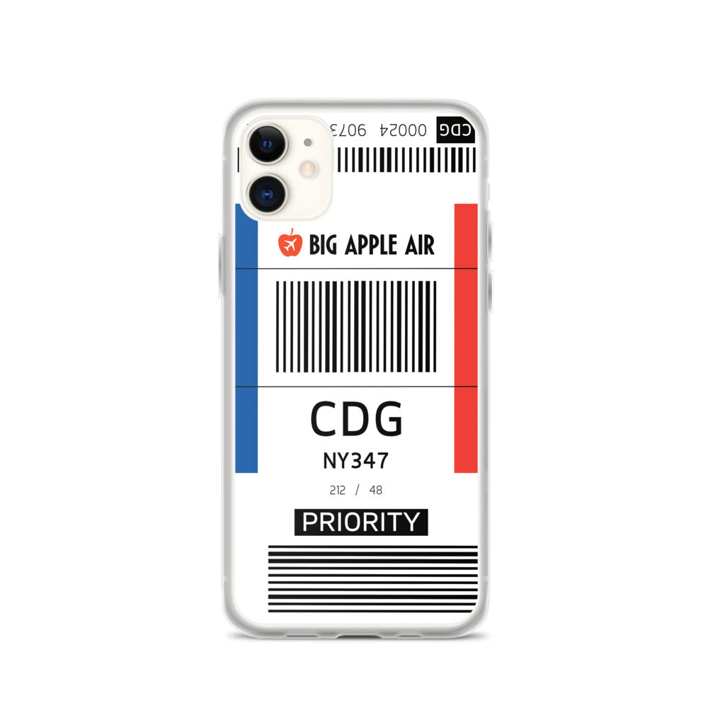 CDG Airport iPhone Case