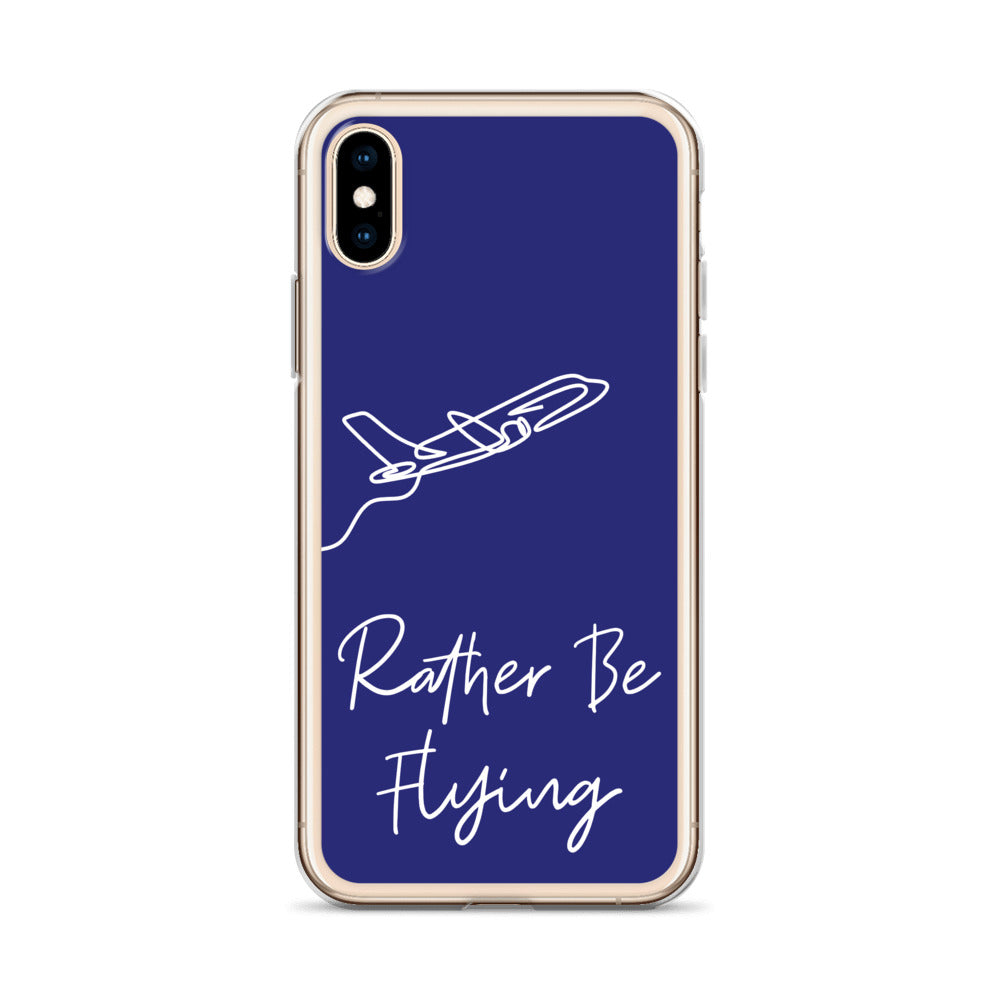 Rather Be Flying iPhone Case