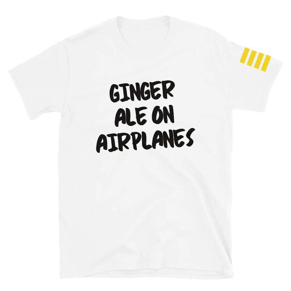 Ginger Ale on Airplanes T-Shirt