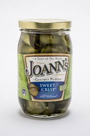 Sweet & Crisp Pickles