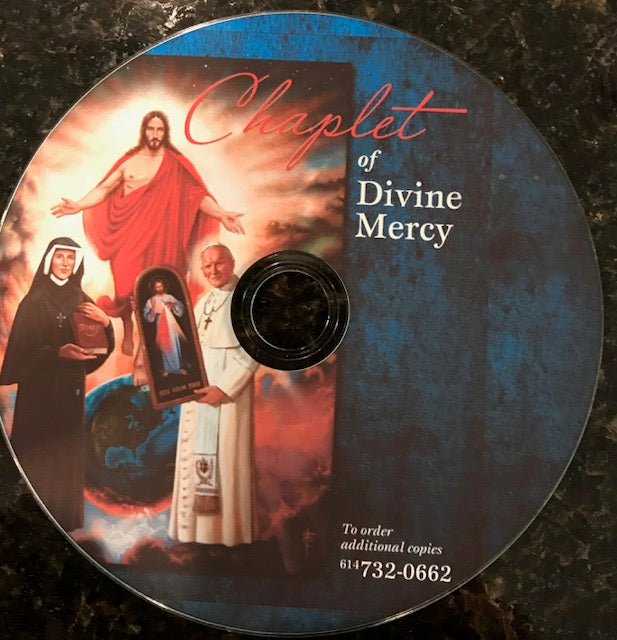 Chaplet of Divine Mercy (Prayed) Produced by Saint Gabriel Radio.  Free Shipping