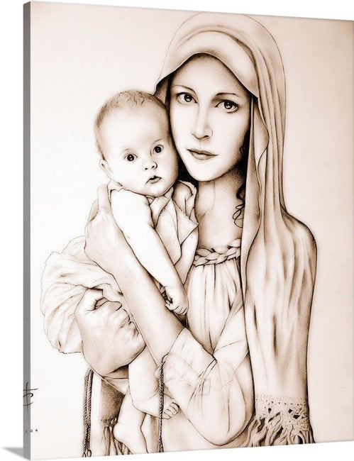 Mother of Tenderness ( 16x20 Canvas Wrapped) $59.00 includes shipping