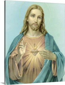 16x20 Canvas Print/ Sacred Heart/ $59.00 Free Shipping